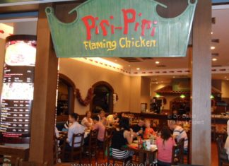Piri Piri Flaming Chicken